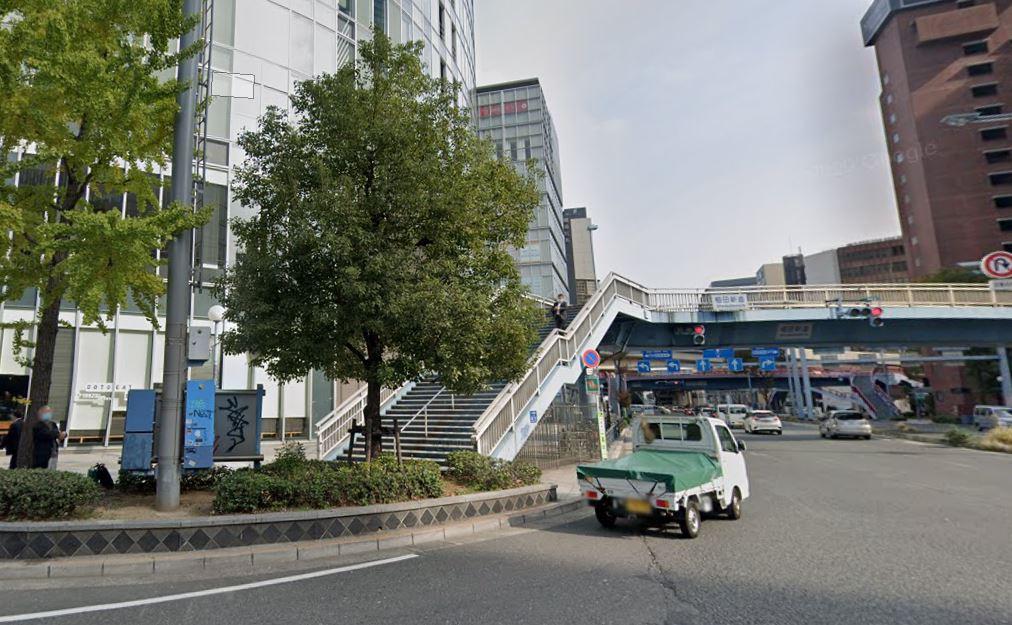 チキンゴルフ梅田店のアクセス方法1