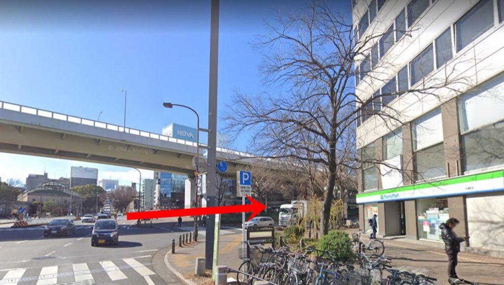 チキンゴルフ名古屋栄店の口コミ【アクセス方法2】