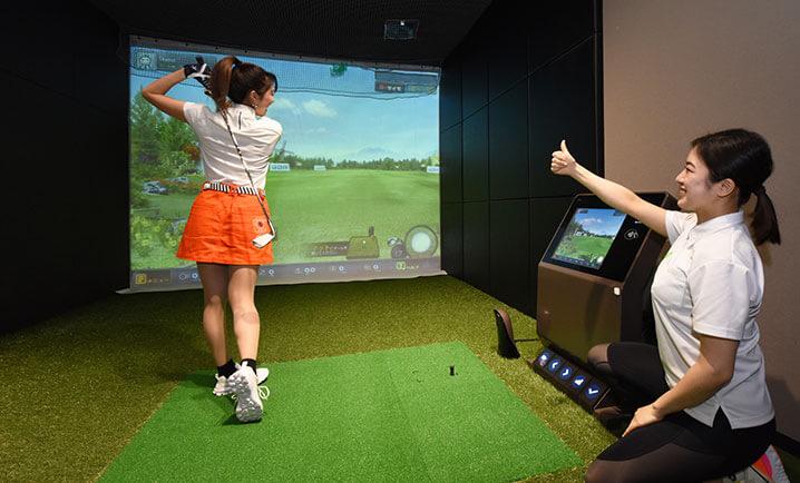 チキンゴルフ札幌店の店内風景